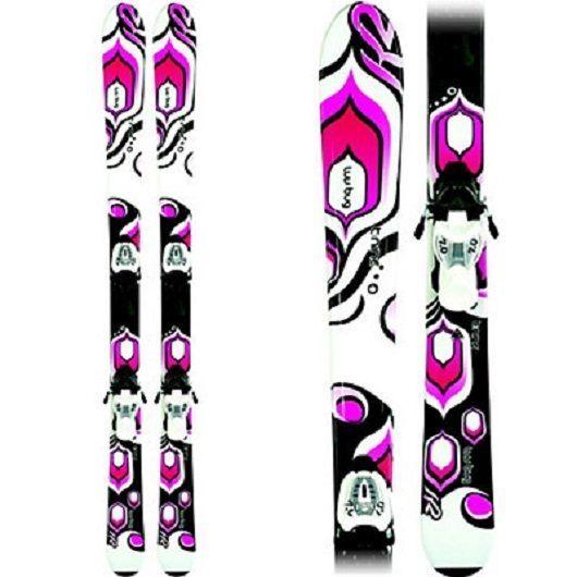 NEW / K2 LUV BUG 76cm Girl's SKIS W/Marker Bindings / NEW