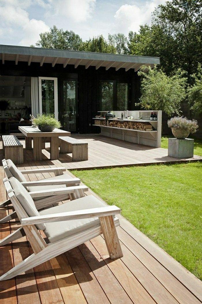 1001 + Ideen für moderne Gartengestaltung zum Genießen an
