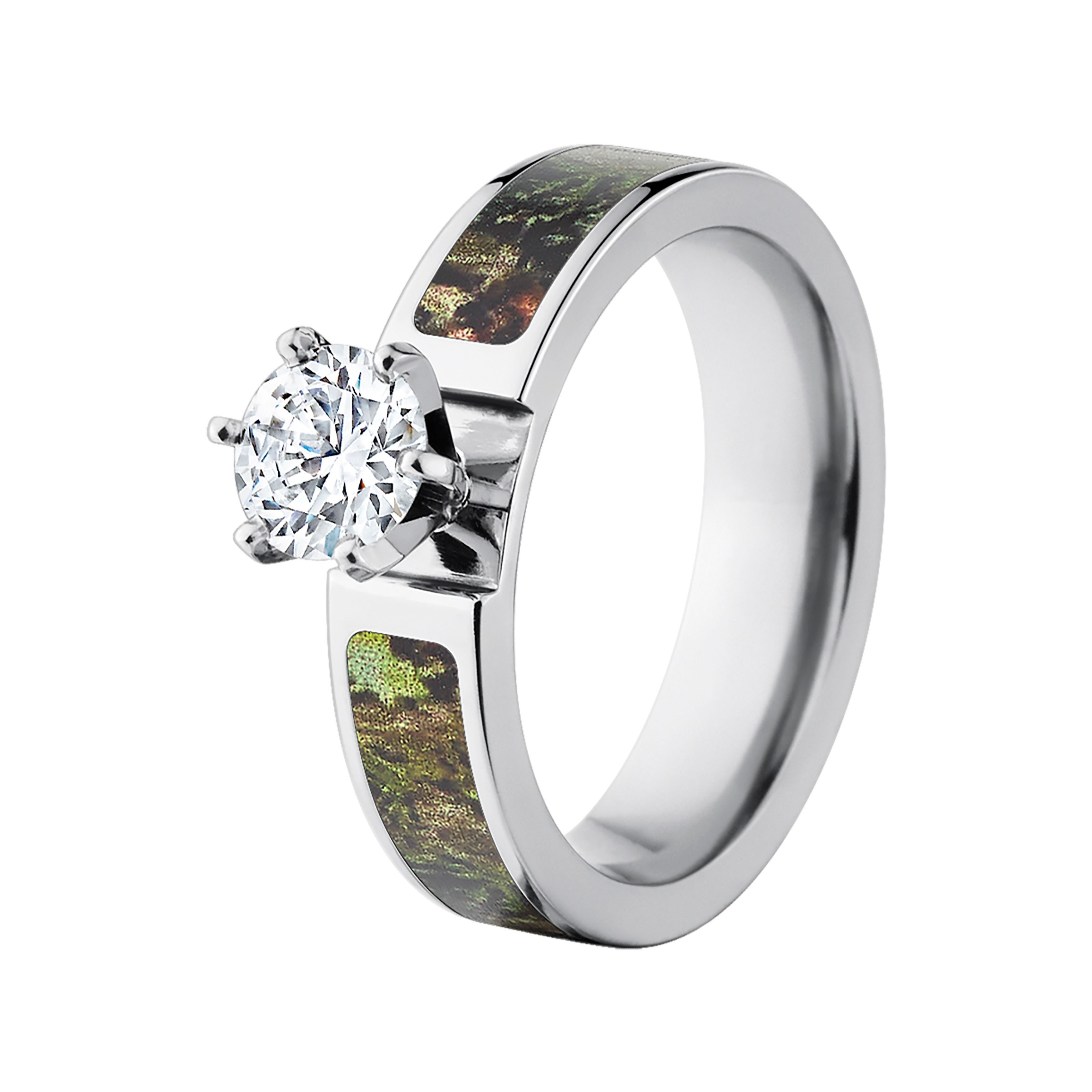 Officially Mossy Oak Camo Rings Camouflage Wedding Rings Camo Bands