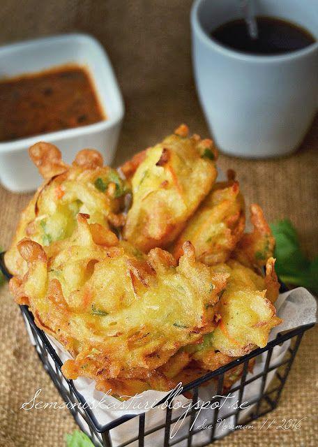 Sues Kitchen Cucur Udang Dan Sayur Rangup Cooking