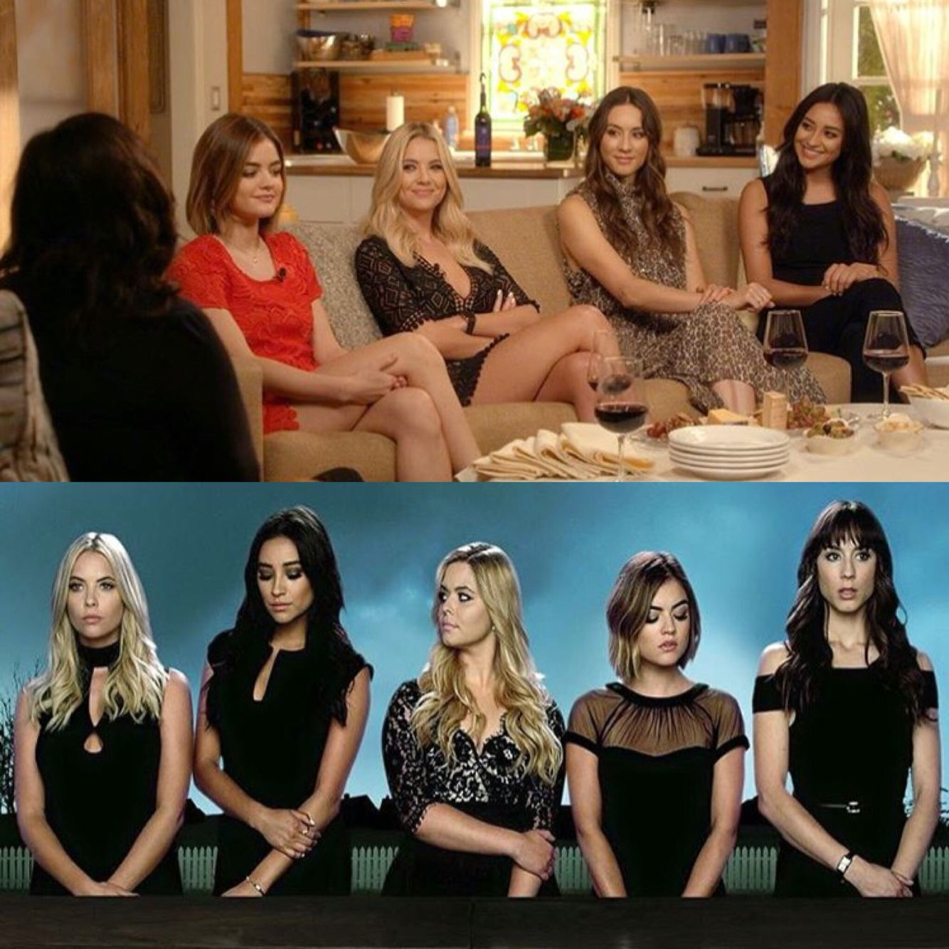Pretty little liars cast who are they dating