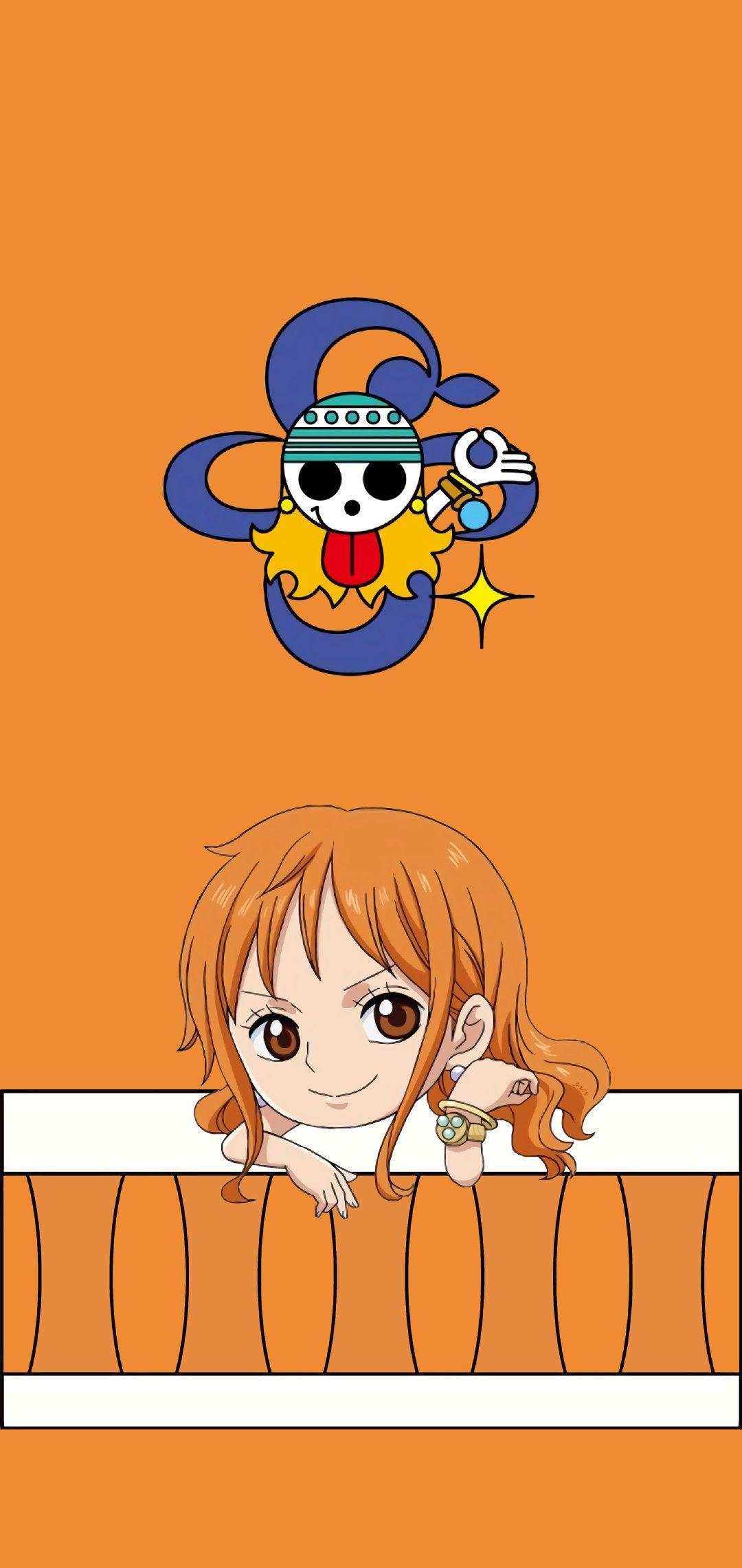 Pin oleh Abrar di Nami Gambar karakter, Animasi, Topi jerami