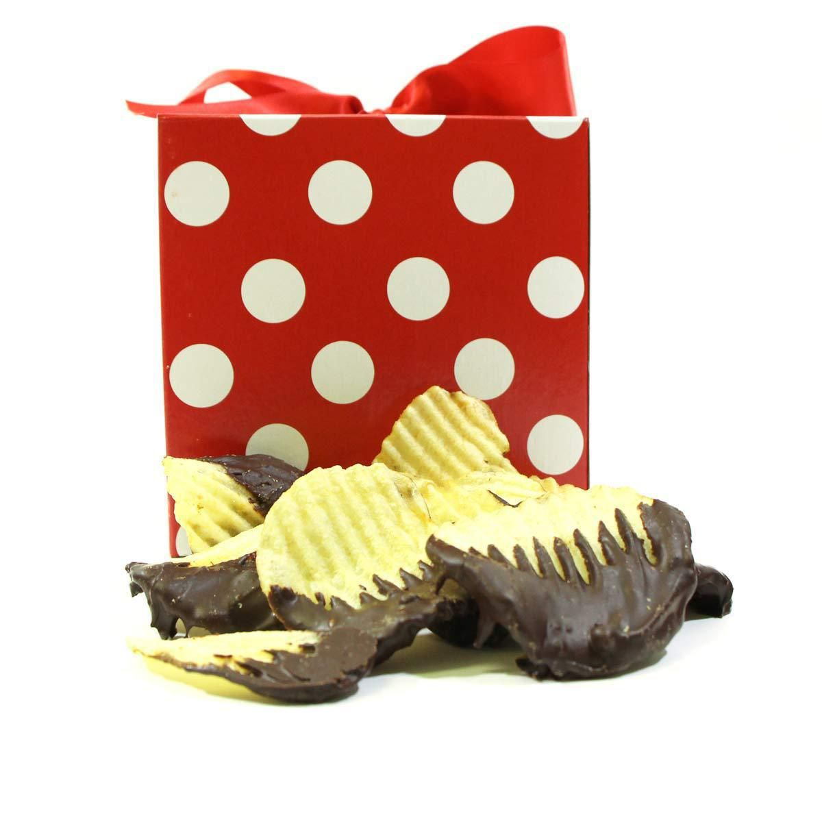 Sriracha Chocolate Covered Chips | Guy Gifts | Pinterest ...