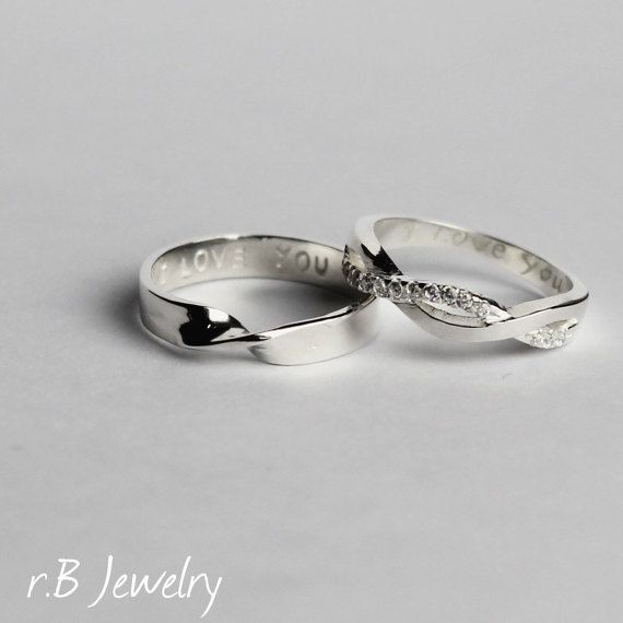 couples jewelry promise ring for couples his and her
