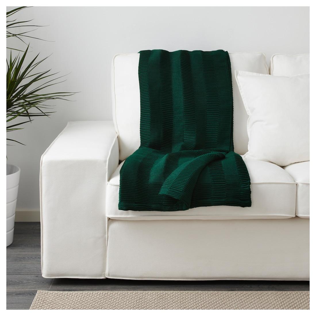 VÄGMÅLLA Throw green IKEA Living room green, Ikea