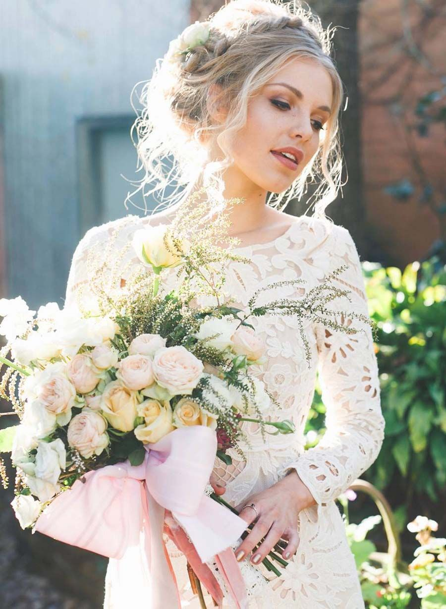 Introducing \'Lost In Paris\' Wedding Dresses for the Bohemian Bride