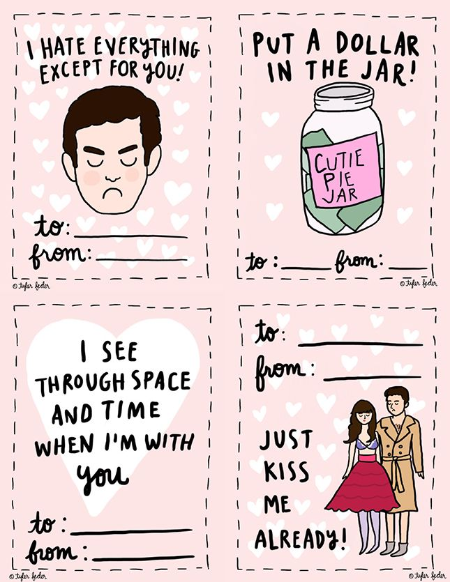 Handmade New Girl Valentine Printable via Brit + Co 10 days of - new valentine's day music coloring pages