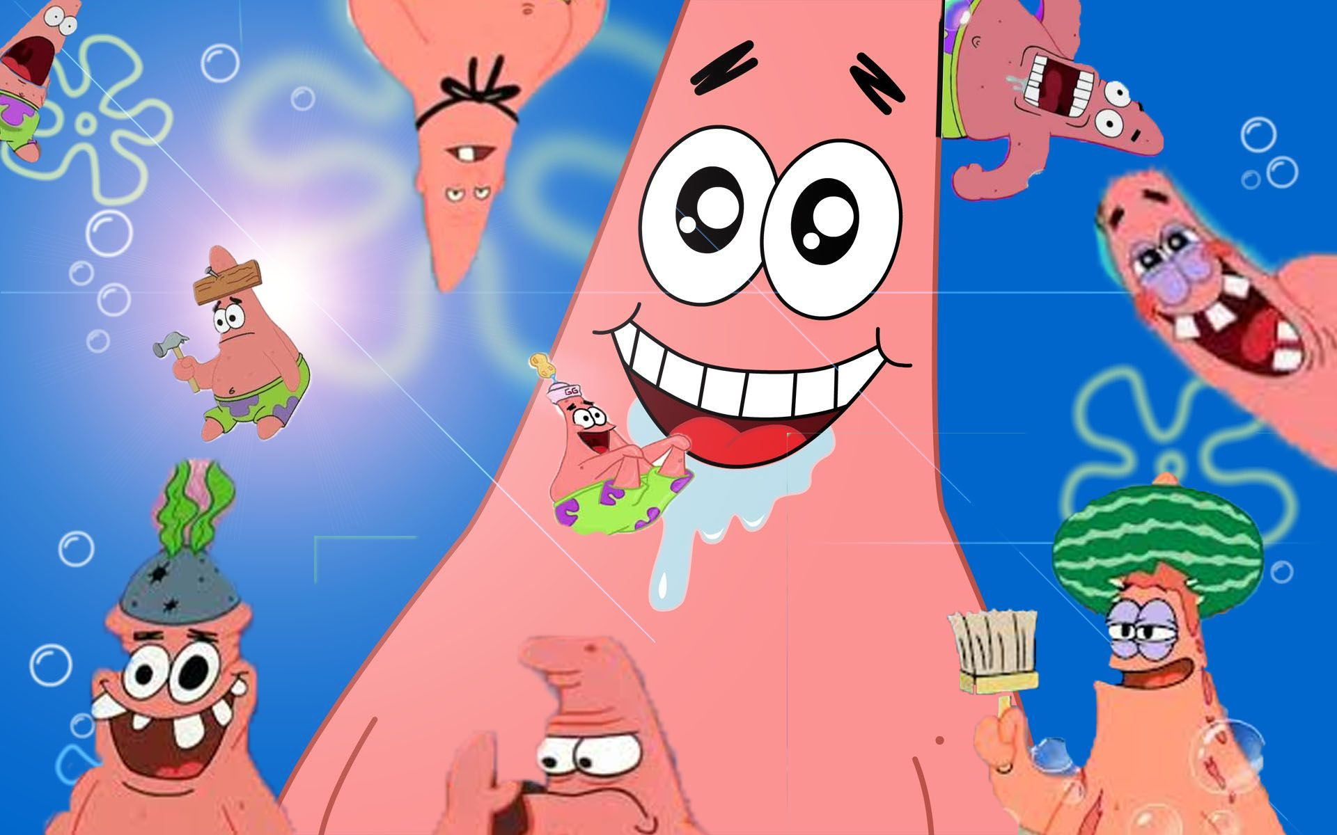 The Many Faces Of Patrick Star! Funny patrick, Star