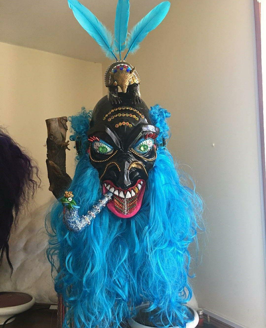 Mascara morenadami diseño in 2020 Decor, Halloween