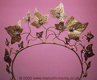 Malcolm Morris Ivy Tiara #tiara