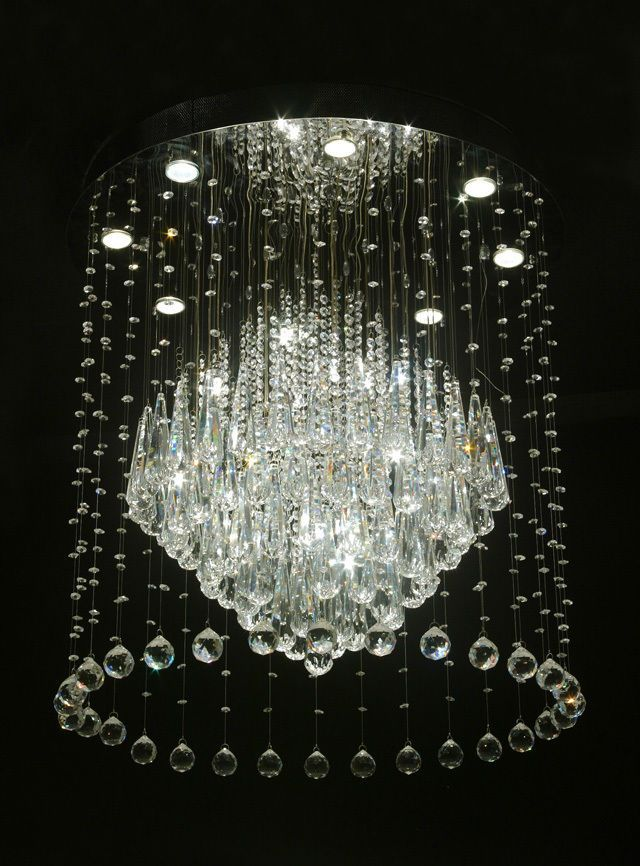 Modern Crystal Chandeliers. Modern Crystal Chandeliers Chandelier Lighting  ...