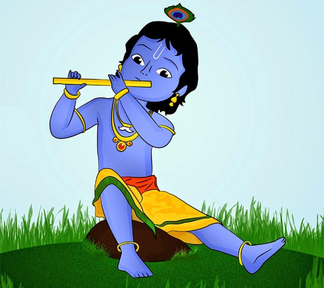 Pin by Love on Jai Radhe Krishna in 2019 | Krishna flute