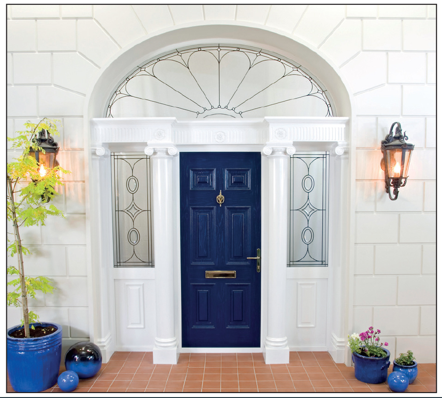 Door Type- Georgian Solid Glass Type- TG5 Colour- Blue | The ...