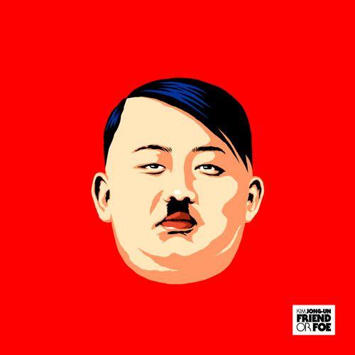 Hilarious Illustrations Transform Kim Jong Un Into Various Pop Culture Characters Adolf Hitler