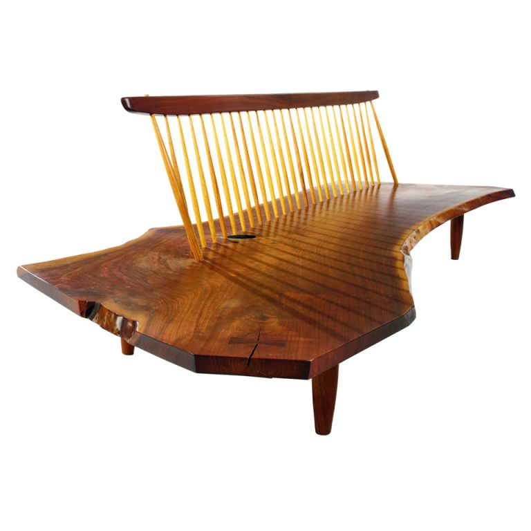 1stdibs | Conoid Bench from the Rockefeller guesthouse by George ...