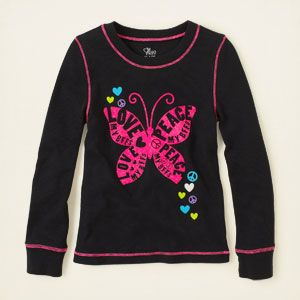 girl - active thermal top   Children's Clothing   Kids Clothes   The Children's Place