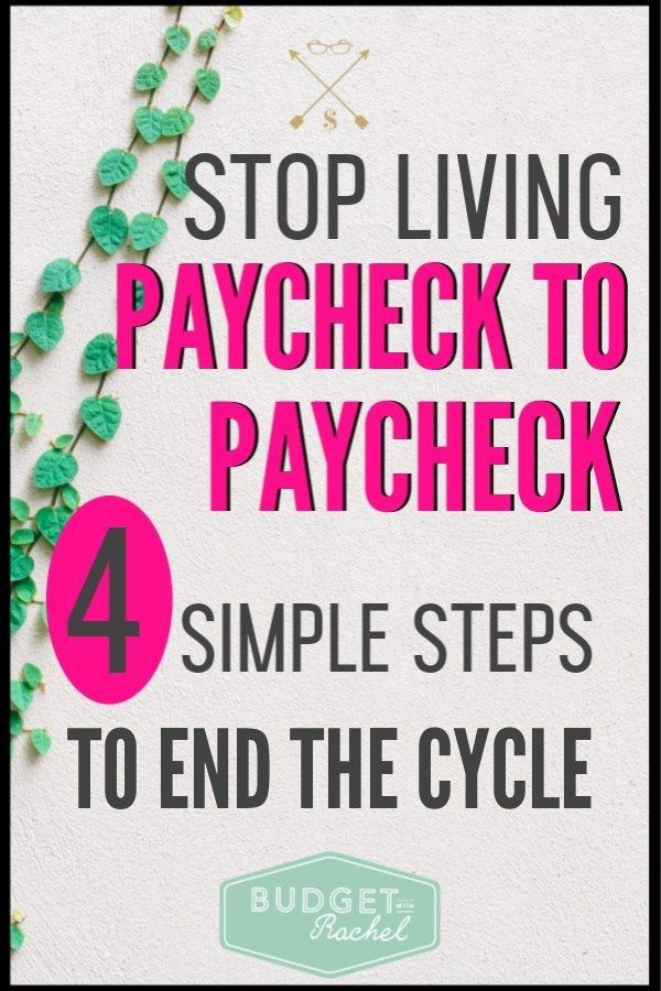 One Stop Solutions In Budget: 4 Steps To Save One Month's Income And Stop Living