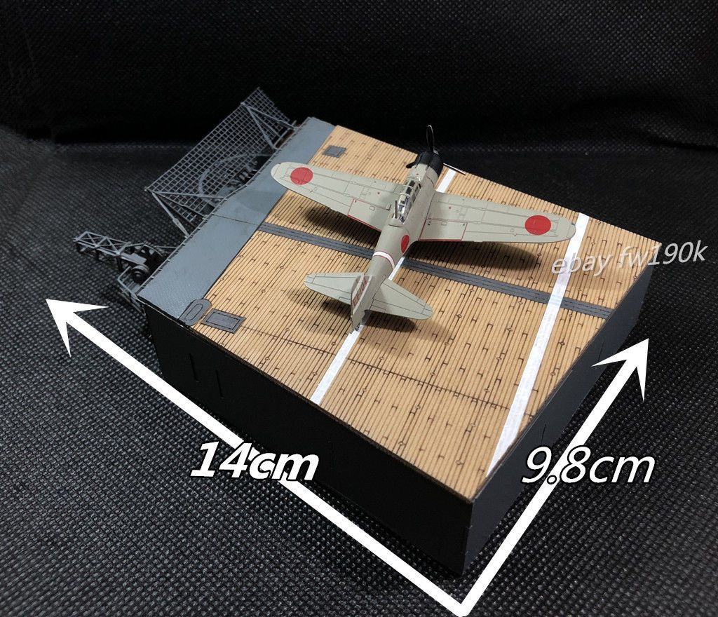 1/144 Scale Finished model- IJN WWII Shokaku Aircraft