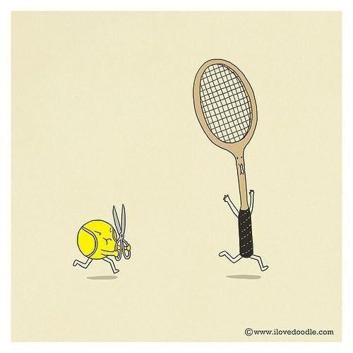 Lol Tennis Humor Funny Doodles Funny Illustration Cute Doodles