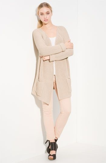 Vince Ribbed Cardigan | Nordstrom - StyleSays
