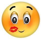 foto de faccine tristi : baciata Archivio Fotografico Smiley Immagini Facce divertenti