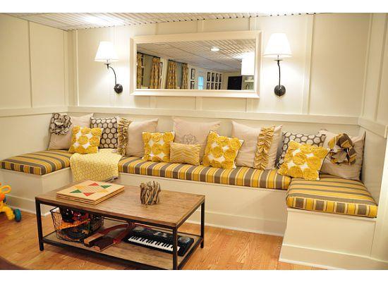 Canapé intégré
