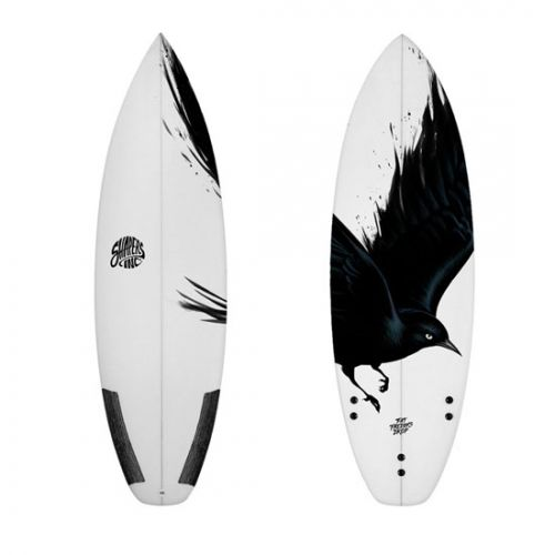 Shapers Blackbird Surfboard