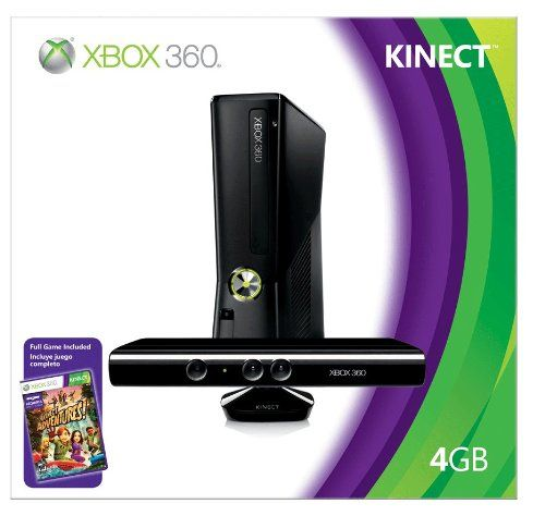 Xbox 360 4gb Console With Kinect Xbox 360 Ex Box 360 Kinect