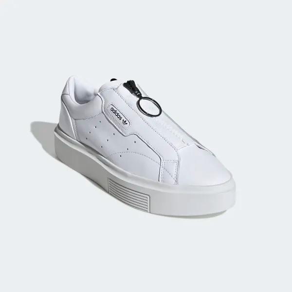 Eh Falange Jabeth Wilson  adidas Sleek Super Zip Shoes - White | adidas US | Adidas shoes originals,  Adidas, Red and white adidas