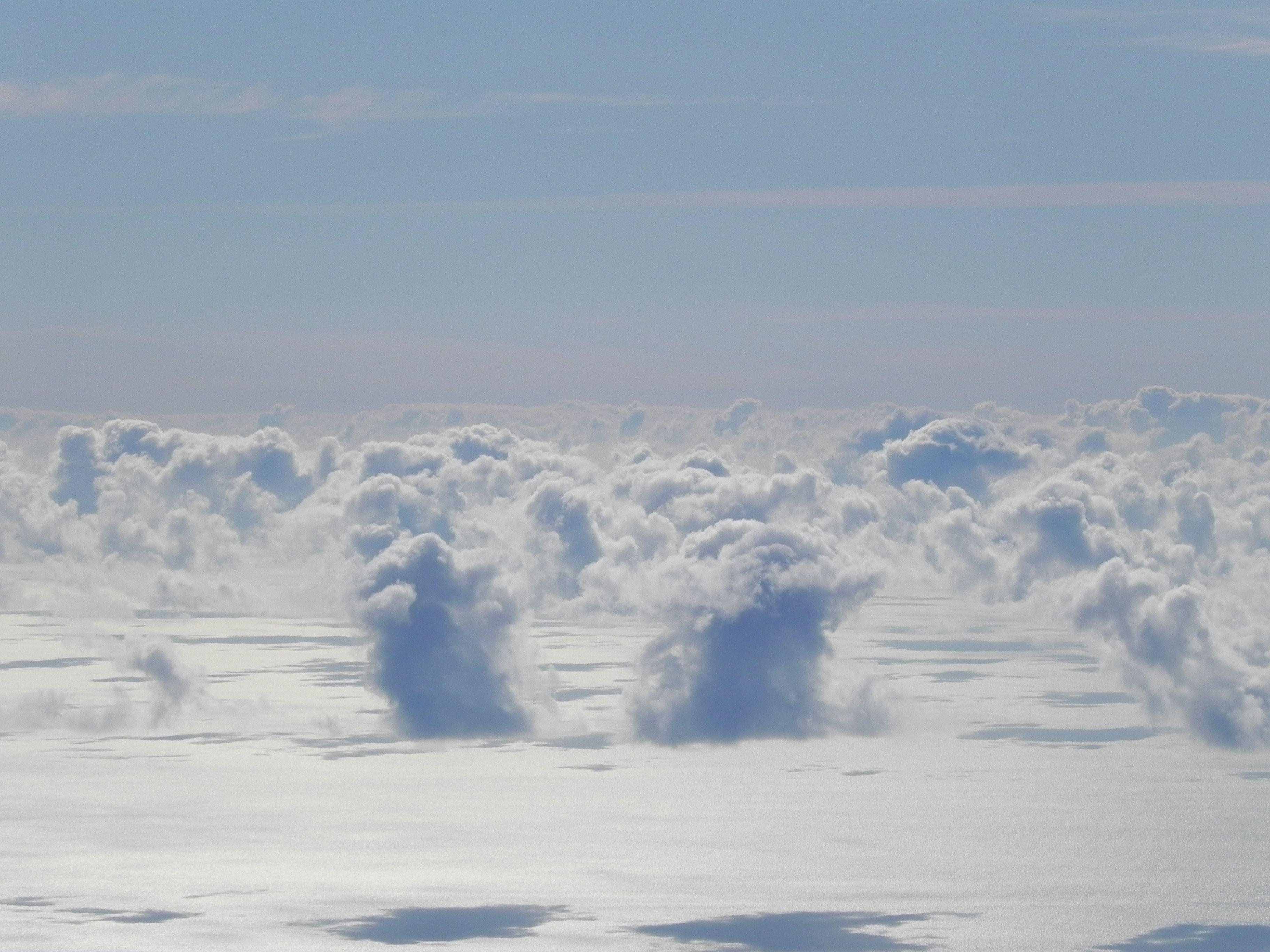 Las nubes desde Izaña - Tenerife