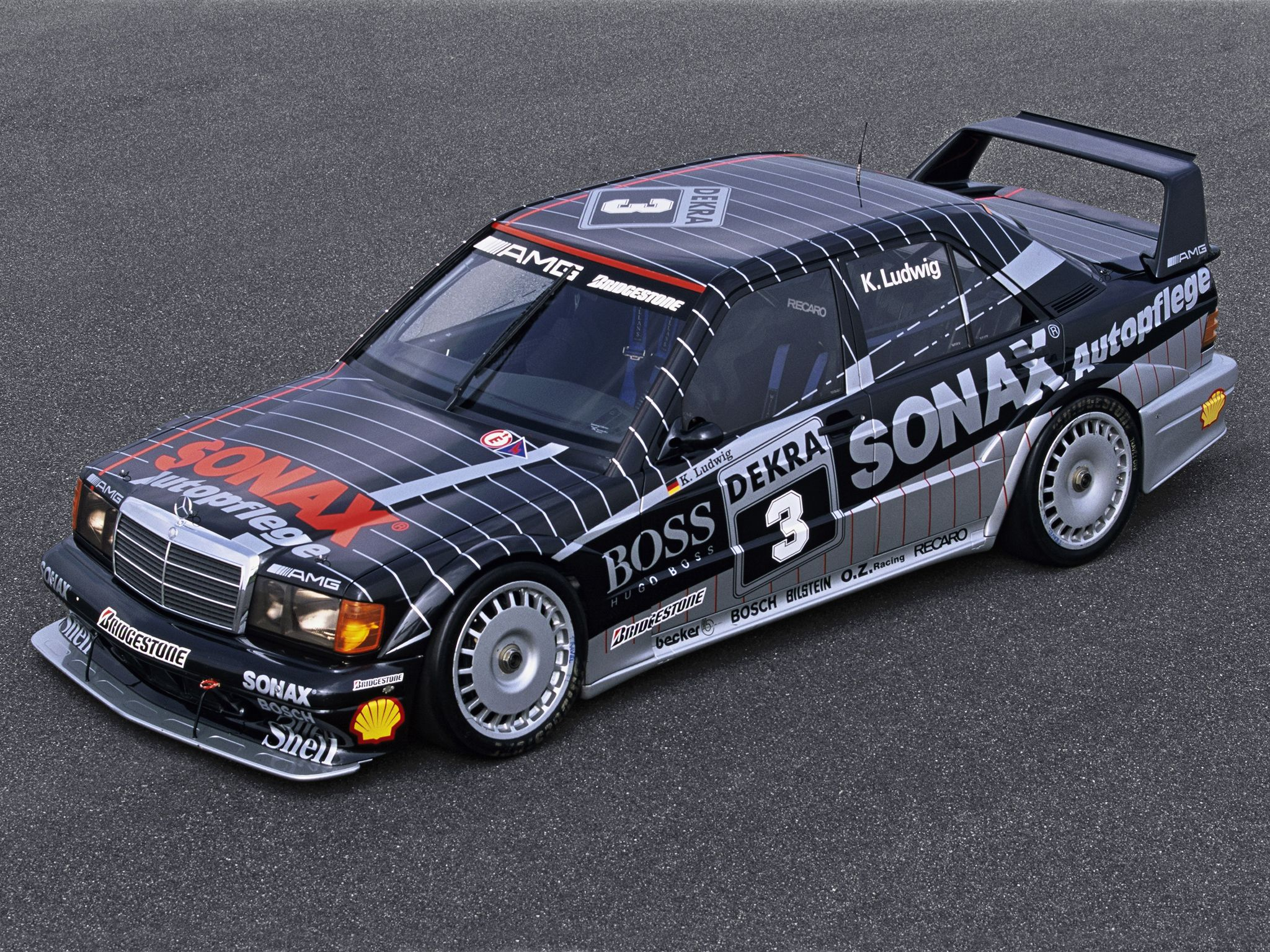 mercedes-benz 190 e 2.5-16 evolution ii dtm | race livery