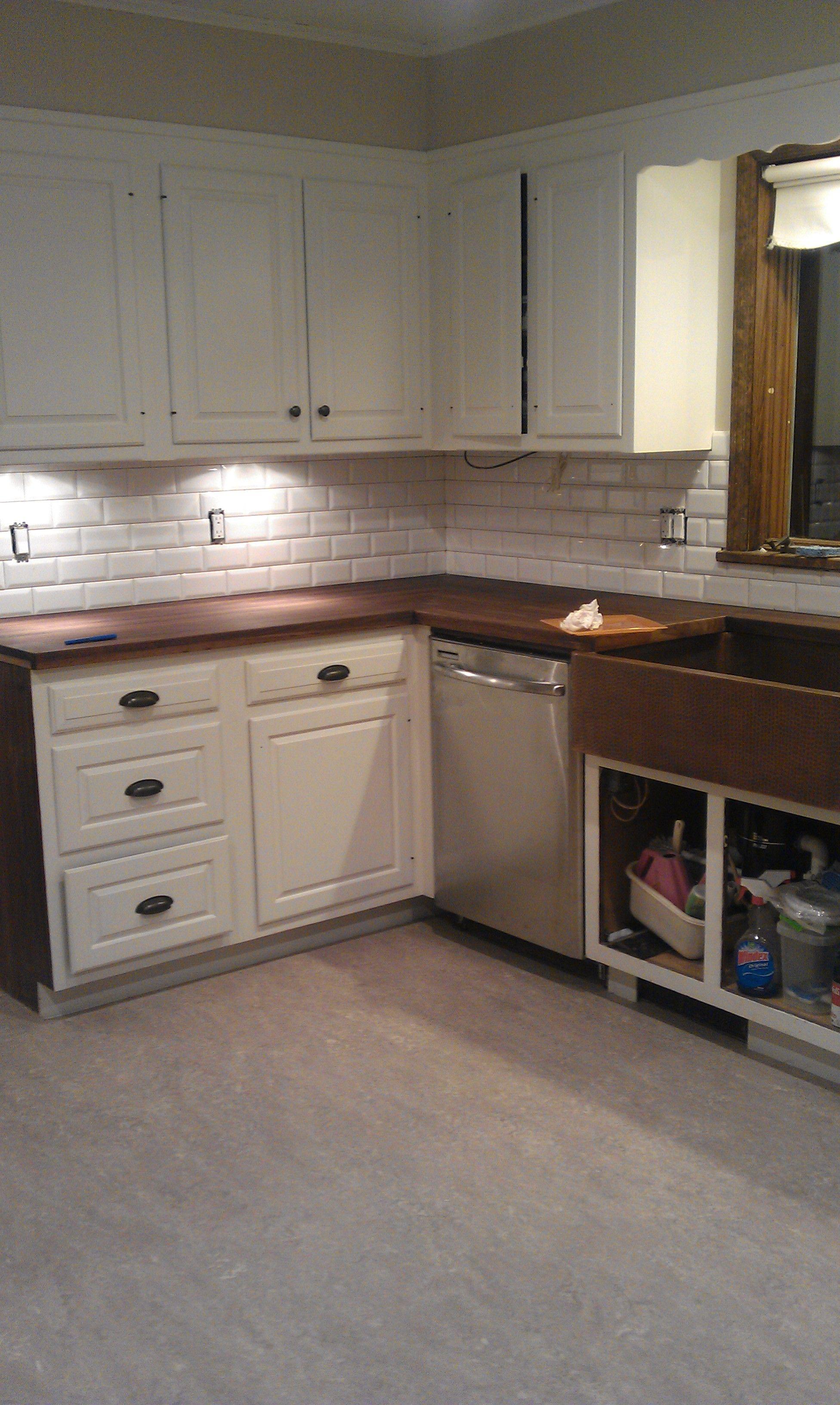 Marmoleum flooring in kitchen | Kitchen | Pinterest | Kitchens ...