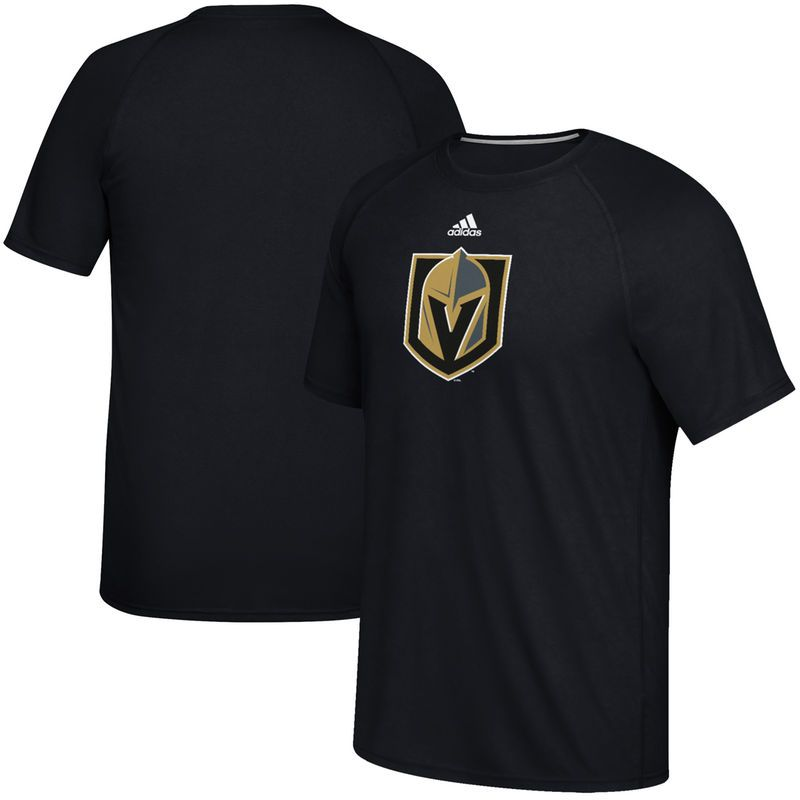 Vegas Golden Knights adidas Primary Logo Ultimate T-Shirt - Black ... 44f80c619