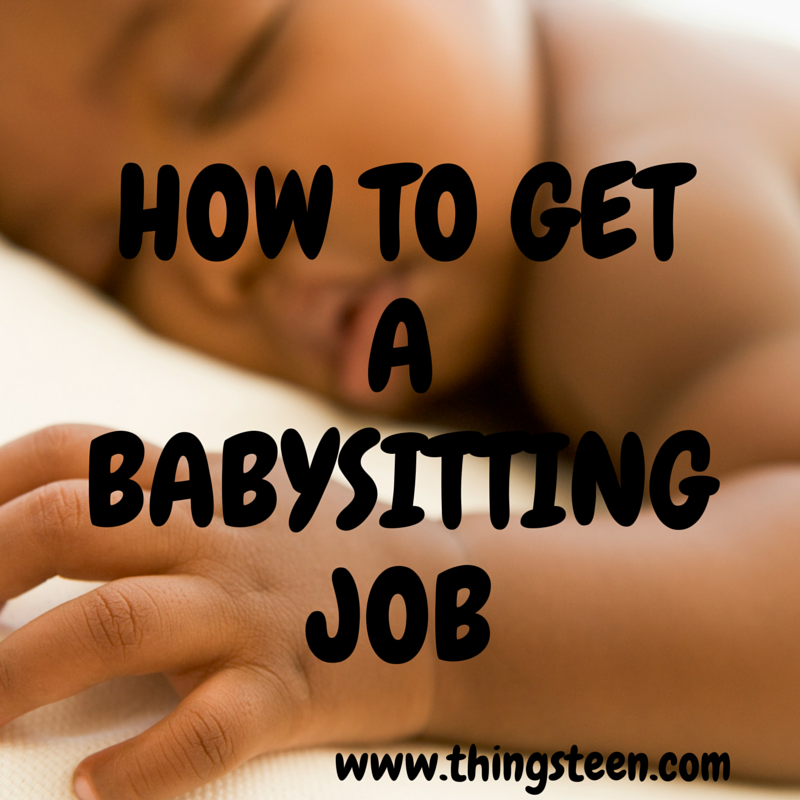 babysitting tips for teens