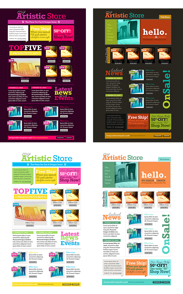 good use of space newsletter layouts pinterest newsletter