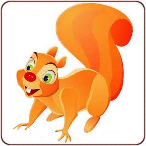 Imprimer le dessin en couleurs ecureuil num ro 276180 images pinterest - Animaux a imprimer en couleur ...