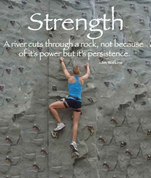 Rock Climbing Quote Fitness Motivation Quotes Fitness