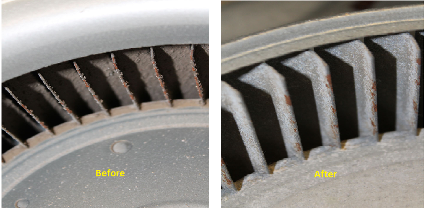We will exchange your dirty grease filters with clean filters that have been professionally cleaned at our shop using a hot chemical tank and pressure washer. Depending on the volume and type of food being cooked, we recommend anywhere from twice a week to once a month.