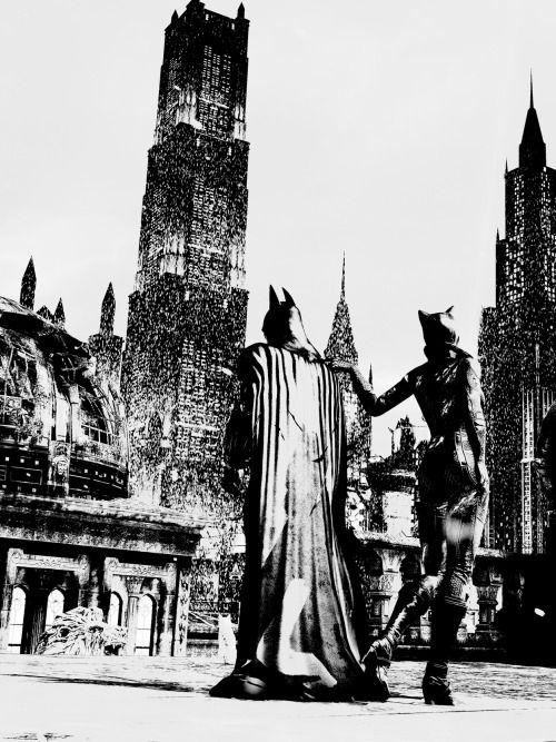 This is so cool! #BatCat | Batman and catwoman, Batman art ...