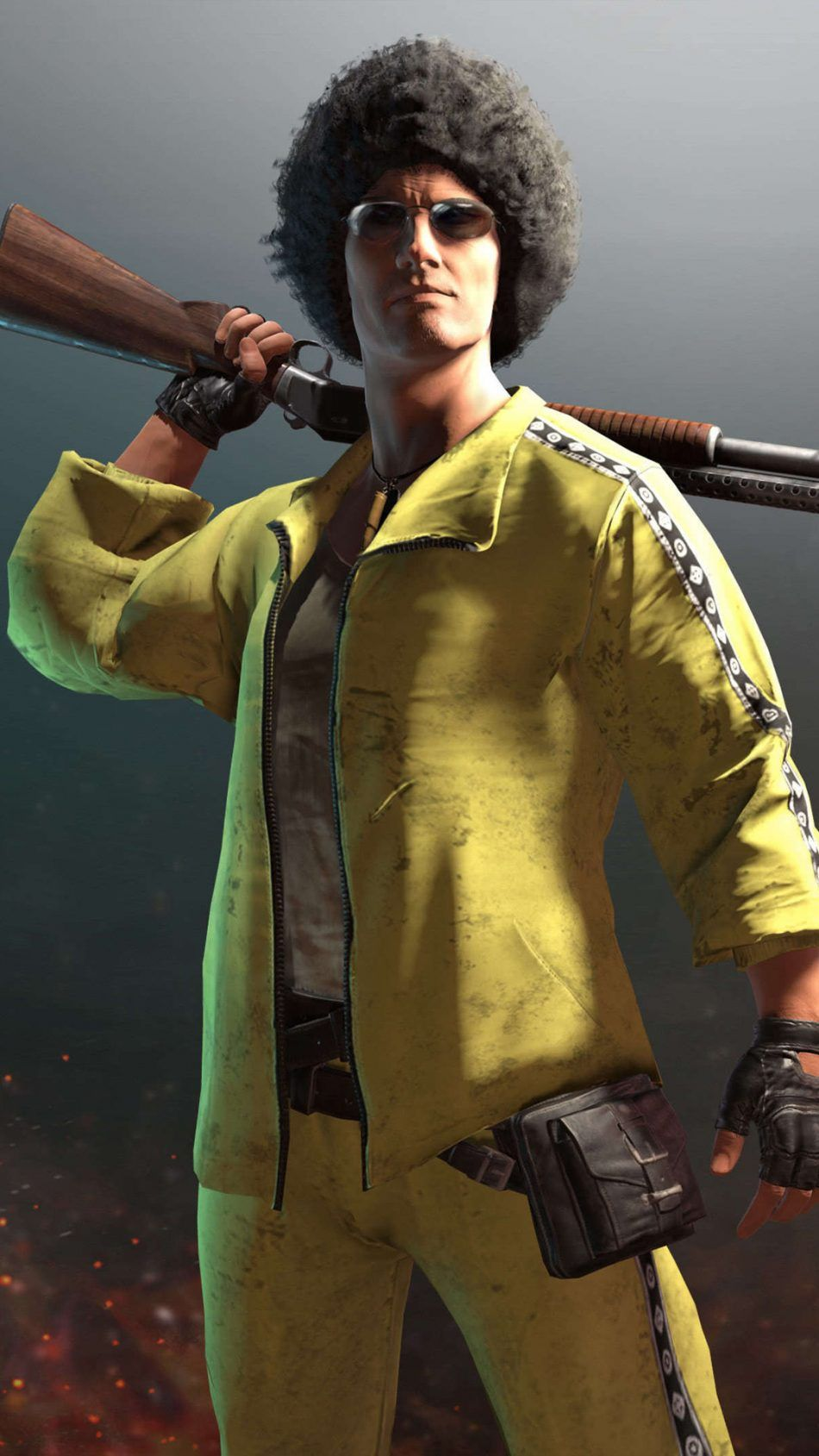 Pubg Male Player Yellow Tracksuit 图素 Pinterest Wallpaper