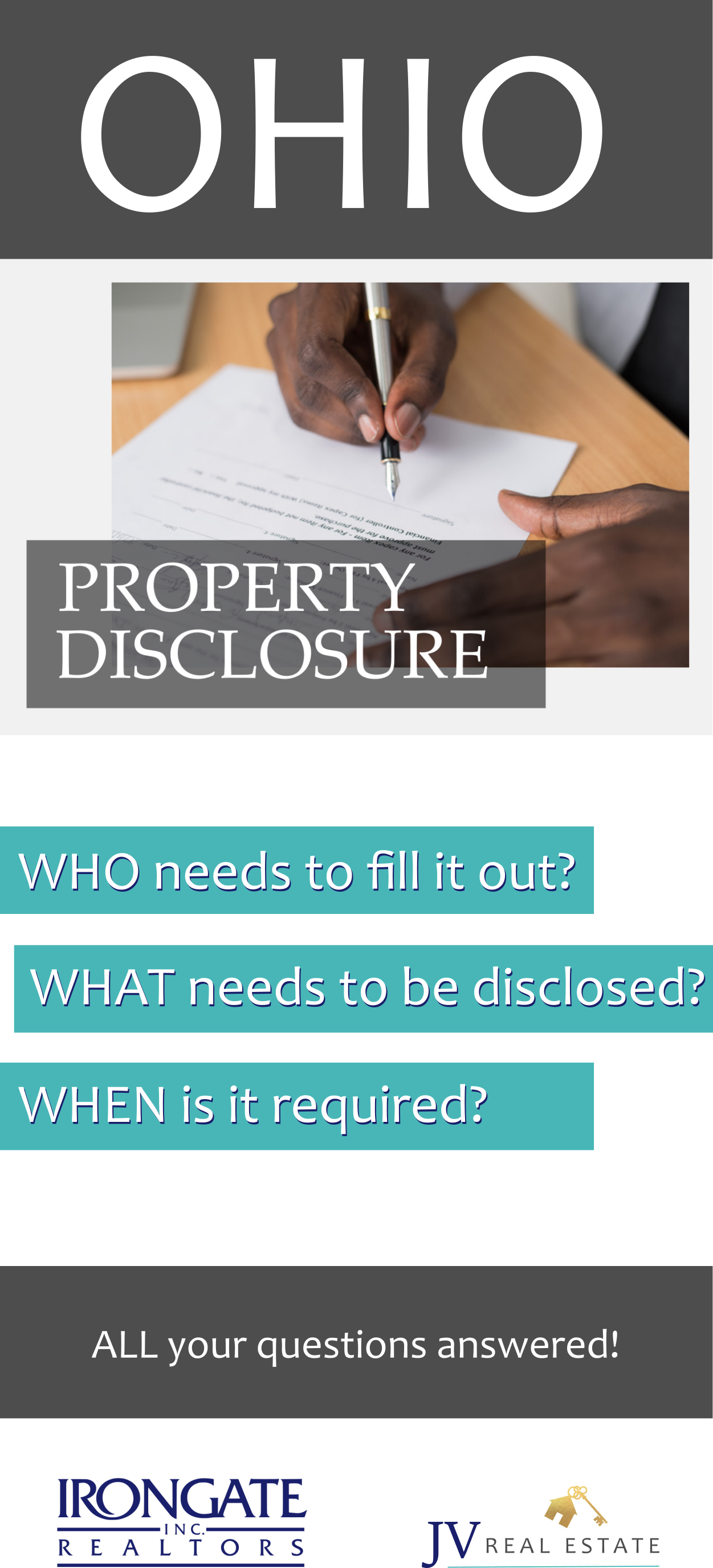 Residential Property Disclosures in 2019 Selling your