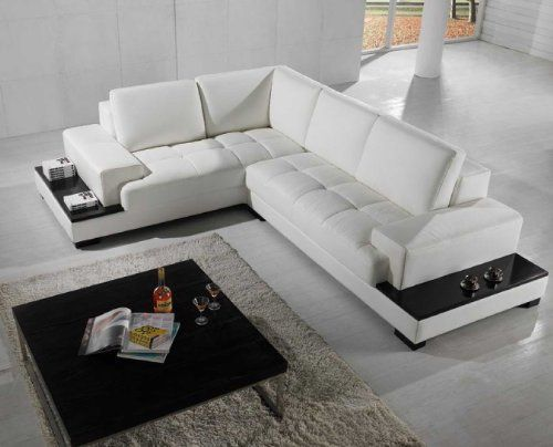 Modern Sofa Sectional Leather, Vig Furniture Reviews