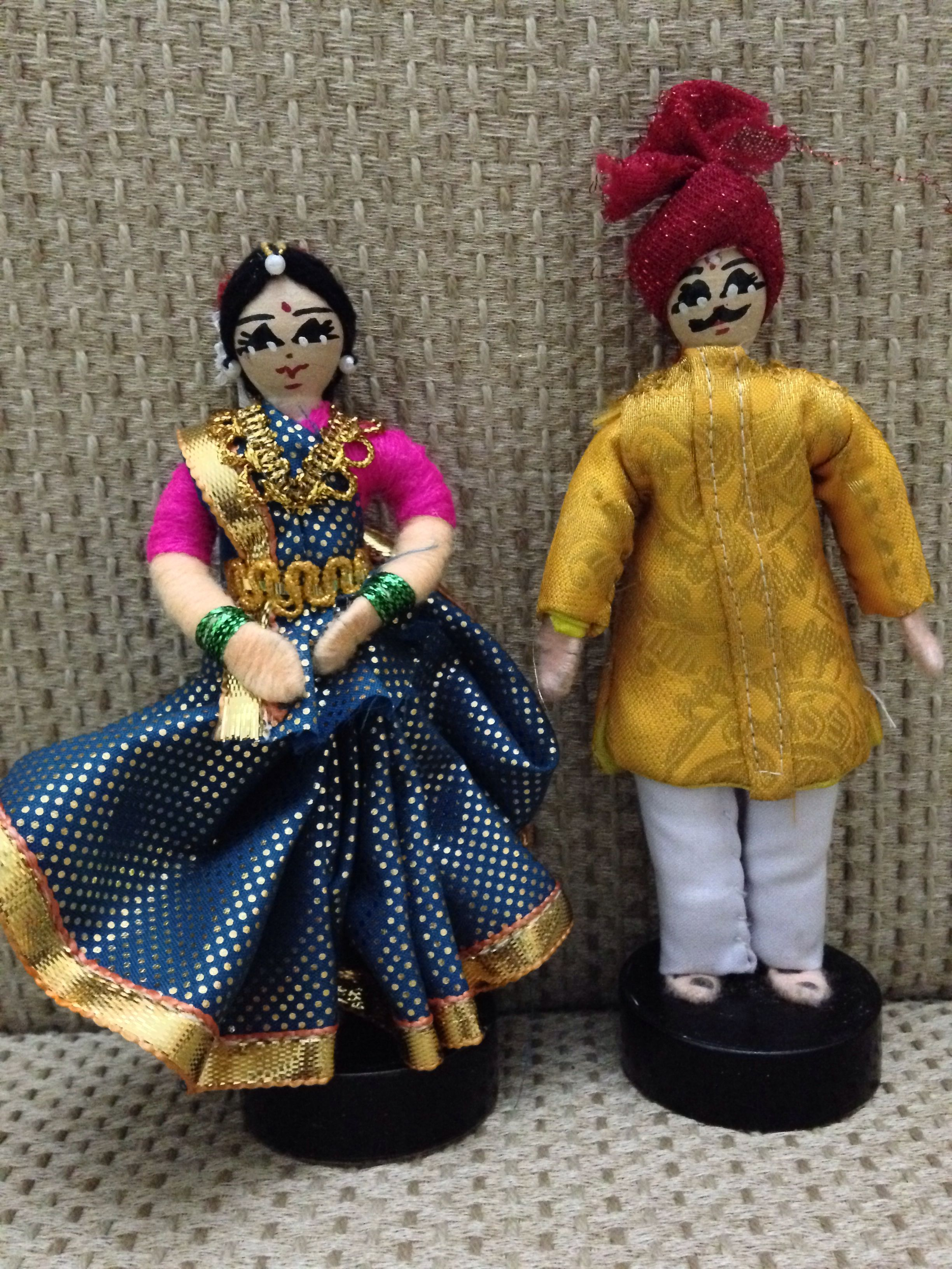 Wire dolls from India Wedding doll, Diy doll, Indian dolls