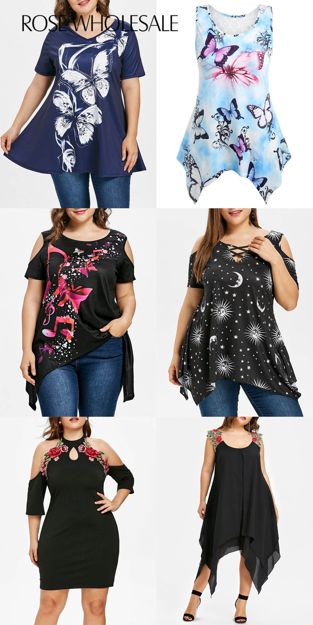 up to 70% off, Rosewholesale plus size tank tops and cold ...