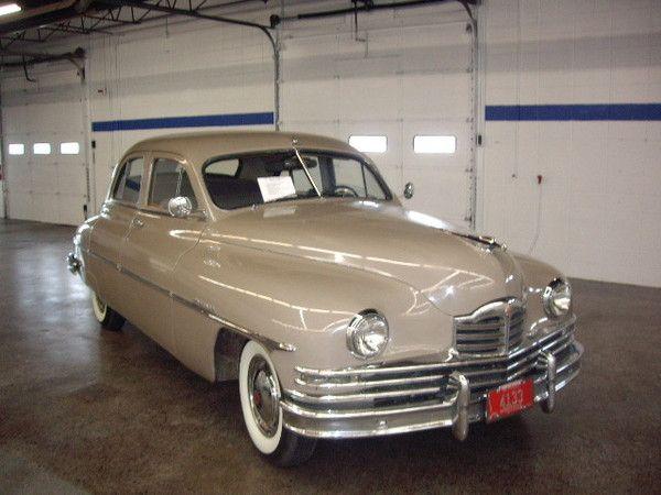1940 Packard Model 1800 Araba Klasik Amerikan
