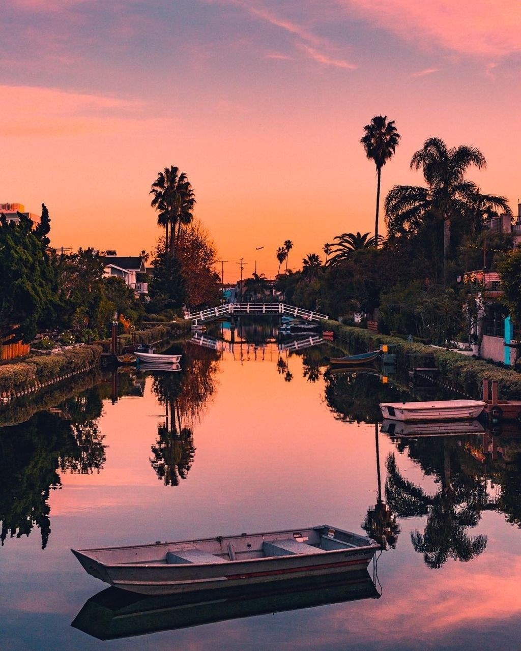 Beautiful Nature Los Angeles: Venice Canals Historic District By Brandon Aponte