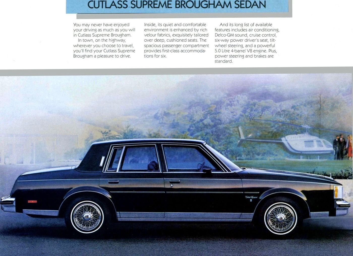 Oldsmobile Cutlass Supreme Brougham Sedan Gm Cars