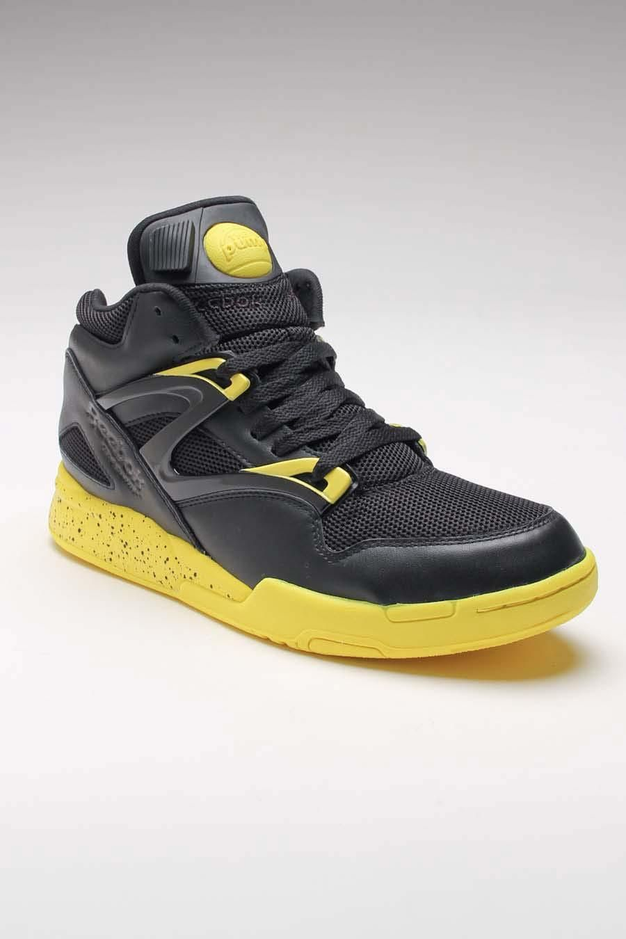 79c60e4eadaf My Bubba would Love the touch of color Reebok Pump Omni Lite Black Sunrock
