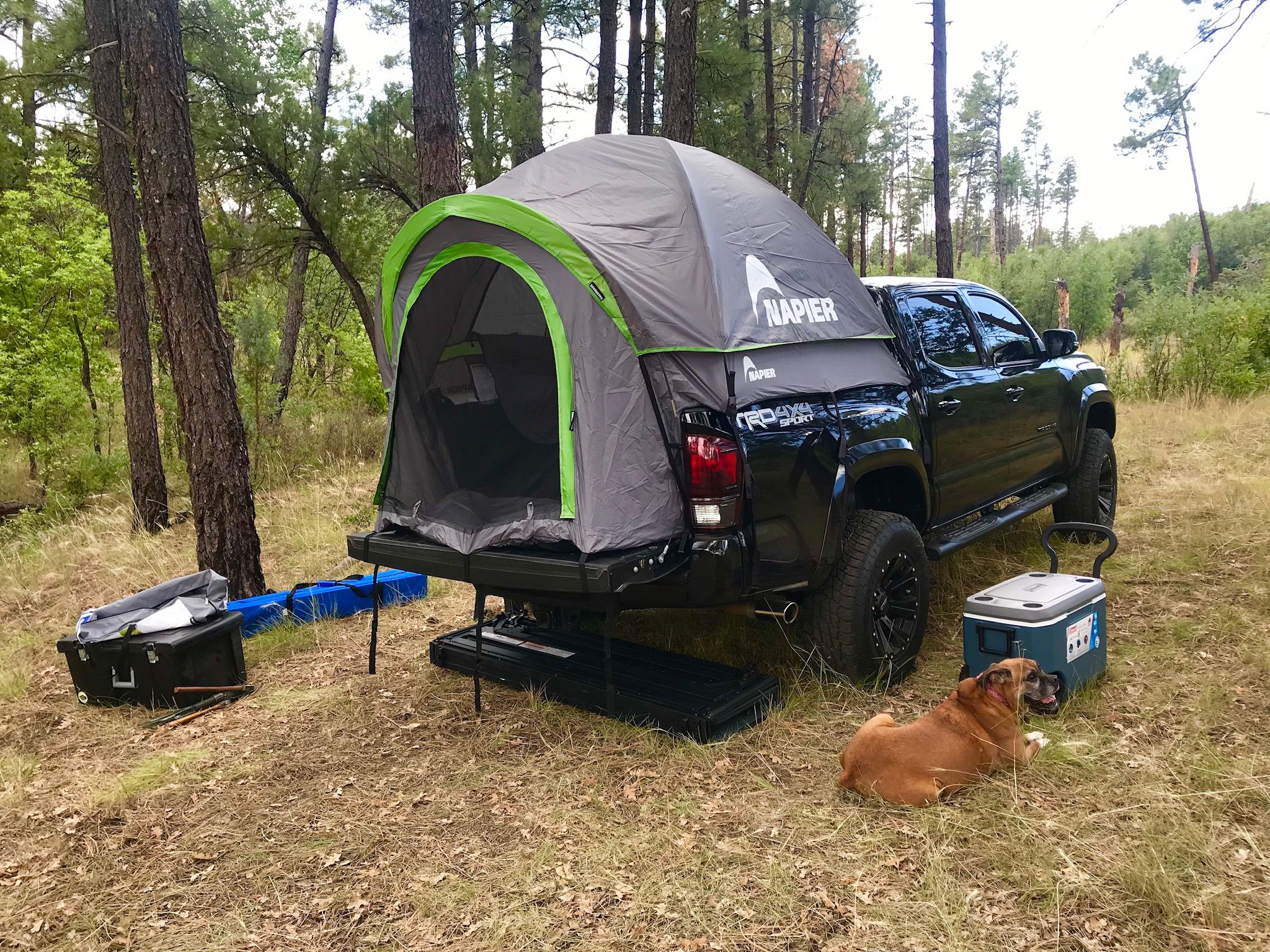My 2018 and my Napier truck bed tent tent