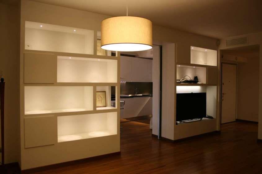 pareti soggiorno in cartongesso - Idee per il soggiorno